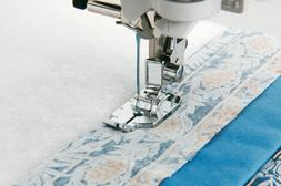 1/4 INCH QUILTING FOOT / PIECING FOOT  for Brother Sewing Ma