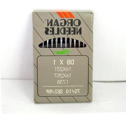 10 16X257 #10BP ORGAN DBX1 INDUSTRIAL SEWING MACHINE NEEDLES