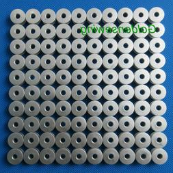 100 INDUSTRIAL SEWING MACHINE L SIZE ALUMINUM BOBBINS FOR RE
