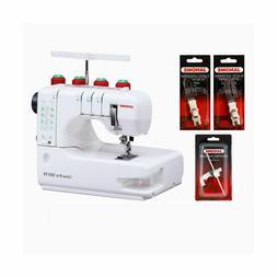 Janome 1000CPX CoverPro Coverstitch Sewing Machine w/Bonus P