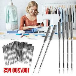 100PCS Threading Singer Sewing Machine Needles For Domestic