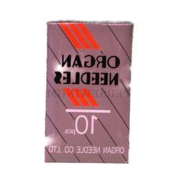 100 ORGAN 10BP 15X1 HAX1 FLAT SHANK HOME UNIVERSAL SEWING MACHINE NEEDLE 130//705