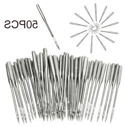 50Pcs Assorted Sewing Machine Needles Craft Tool for Brother