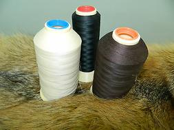 12000 yards FURRIER THREAD Fur Sewing Machine GLAZE COTTON M