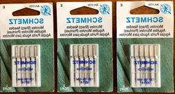 15 Schmetz Microtex  Needles Art.1731 E 130/705 H-M 90/14 NE