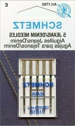 Schmetz 1783 Jeans Denim Sewing Machine Needle Size 110/18 1