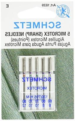 Schmetz 1839 Sharp / Microtex Machine Needle Size 60/70/80