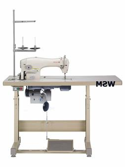 SINGER 191D-30 SINGLE NEEDLE INDUSTRIAL SEWING MACHINE W/ TA