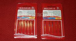 2 PACKS  Singer  Sewing Machine Needles 2020 11,14 ,16  ASSO