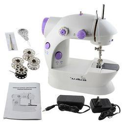 2-Speed Electric Portable Mini Desktop Sewing Machine Handhe