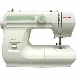 Janome 2206 Sewing Machine 6 Built-in Stitches 4-step Button