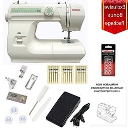 Janome 2206 Sewing Machine with Exclusive Bonus Bundle