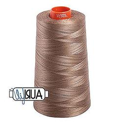 Aurifil 2370 Mako 50 Wt 100% Cotton Thread, 6,452 Yard Cone