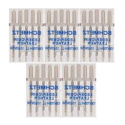 25 Schmetz Leather Sewing Machine Needles 130/705H LL 15x2NT