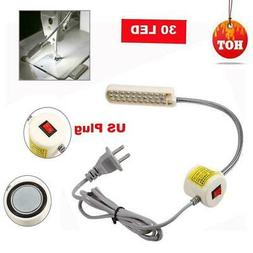 30 LED Sewing Machine Light Gooseneck Working Lamp With Magn