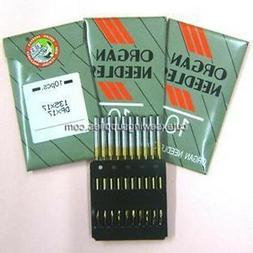 30 TITANIUM Organ 135X17 DPX17 SY3355 Sewing Machine Needles