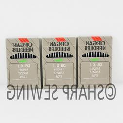 30pcs ORGAN DBX1 INDUSTRIAL SEWING MACHINE NEEDLES 16X231 16