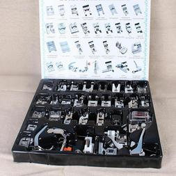 32pcs/Set Domestic Sewing Machine Presser Foot Feet for Brot