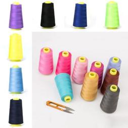 3KM Cone Bobbin Polyester Thread Embroidery Quilting for Bro