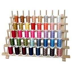 40 Spool Polyester Embroidery Machine Thread Set Brilliant C