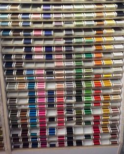 SULKY 40 WEIGHT RAYON EMBROIDERY THREAD- 250 YARDS---MANY CH