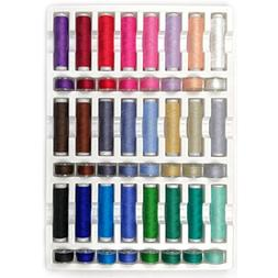 40wt cotton 24 assorted thread