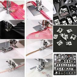 Pro 42/32pcs Sewing Machine Presser Foot Feet for Brother Si