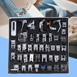 42pcs domestic sewing machine presser foot feet