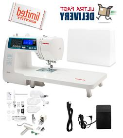 Janome 4300QDC-B / 4300 QDC Computerized Sewing + Quilting M