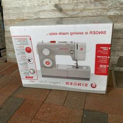 SINGER 4411 Heavy Duty 120W Portable Sewing Machine - Grey -