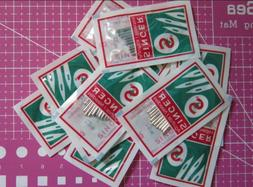 50 needles Singer Sewing Machine Needles, 2020  size #9, 11,