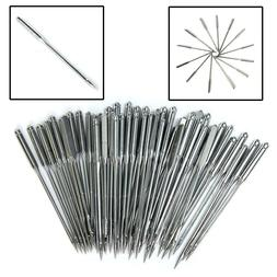 50Pcs Assorted Home Sewing Machine Needles Craft Tool for Br