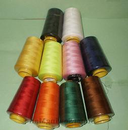 6000 Yards Quality Overlocking Sewing Machine Polyester Thre