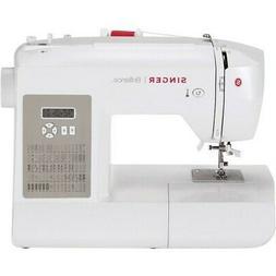Singer 6180 Brilliance Sewing Machine - White/Gray
