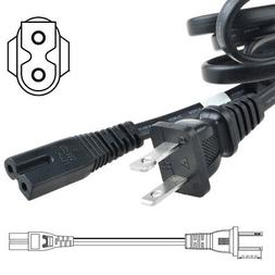 PwrON 6ft AC Power Cord Cable for JANOME 2030DC 2160DC 3160Q