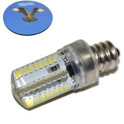 """HQRP 7/16"""" 110V LED Light Bulb Cool White for Brother LS-212"""
