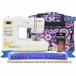 7330 computerized sewing machine with exclusive bonus