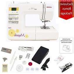 Janome 7330 Magnolia Computerized Sewing Machine with 30 Bui