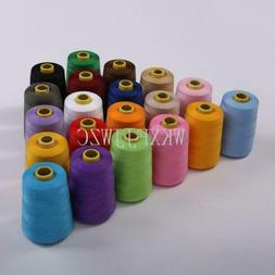 8000 Yards Industrial Overlock Sewing Machine Polyester Thre