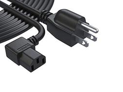Pwr 25 Ft Cable 3 Prong LCD TV L-Type Power Cord Replacement