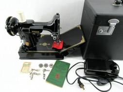 Amazing Condition 221 Singer Centennial Featherweight Sewing