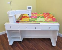 Arrow Quilty Heavy Duty Sewing Cabinet Table for ANY Long-Ar