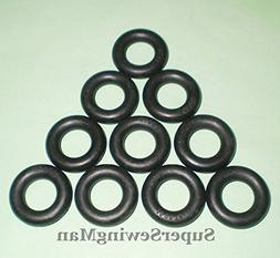 10 PCS BOBBIN WINDER TIRES O RING FOR BROTHER SEWING MACHINE