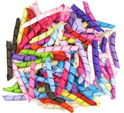 HipGirl Boutique Grosgrain Korker Ribbon for Hair Bows, Hair