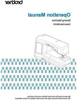 Brother DreamCreator VQ2400 Sewing Machine Manual User Guide