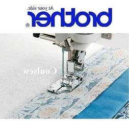 BROTHER GENUINE sewing machine foot 1/4 inch Quilting - NO G