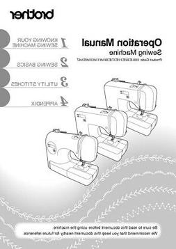 Brother SC9500 Sewing Machine Owners Instruction Manual Repr