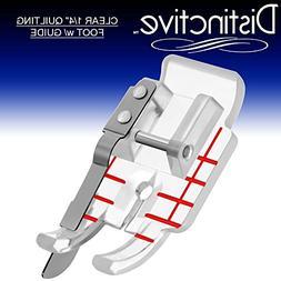 Distinctive Clear 1-4  Quilting Sewing Machine Presser Foot