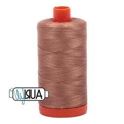 Aurifil Cotton Mako Thread 50 Weight 1422 Yards Cafe Au Lait