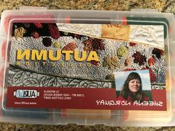 AURIFIL COTTON THREAD--AUTUMN--SHEENA NORQUAY